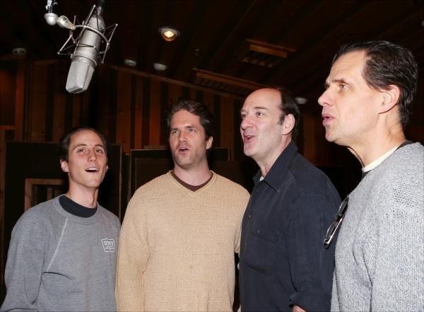 Luke Marinkovich, Aaron Ramey, Dan Sharkey and Michael X. Martin  Photo