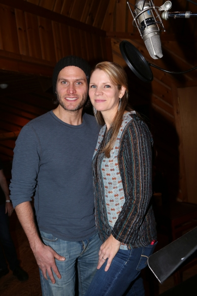 Photo Coverage: In the Recording Studio with Kelli O'Hara, Steven Pasquale and the Cast of THE BRIDGES OF MADISON COUNTY