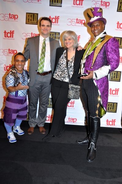 Paulo Dos Santons, Thomas Adkins (TDF), Fran Polino (TDF) and Johnathan Lee Iverson