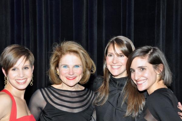 Nicole Feld, Tovah Feldshuh, Alana Feld and Juliette Feld