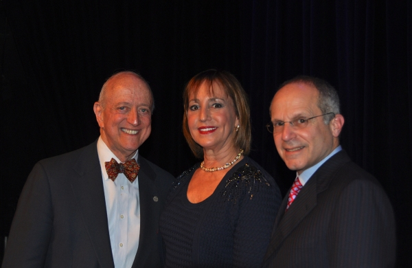 Earl D. Weiner, Bonnie Feld and Kenneth Feld Photo