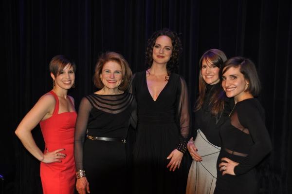 Nicole Feld, Tovah Feldshuh, Melissa Errico, Alana Feld and Juliette Feld