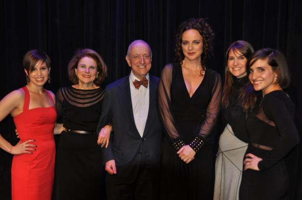 Nicole Feld, Tovah Feldshuh, Earl D. Weiner,  Melissa Errico, Alana Feld and Juliette Feld