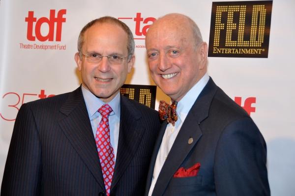 Kenneth Feld and Earl D. Weiner (TDF Board Chairman) Photo