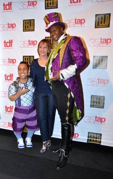 Paulo Dos Santos, Bonnie Feld and Johnathan Lee Iverson Photo