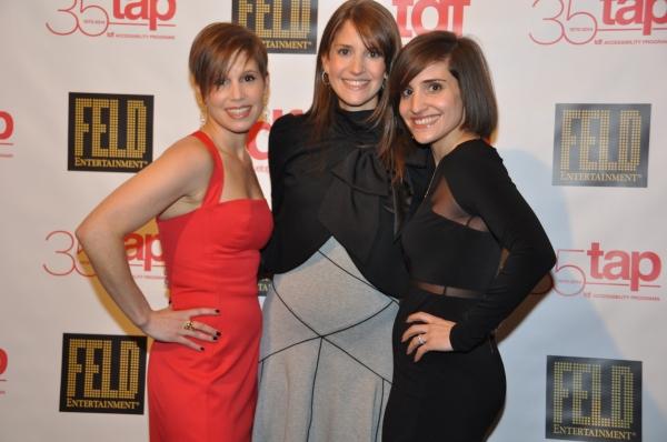 Nicole Feld, Alana Feld and Juliette Feld