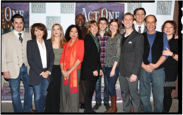 FREEZE FRAME: Tony Shalhoub, Santino Fontana & Cast of ACT ONE Meets the Press