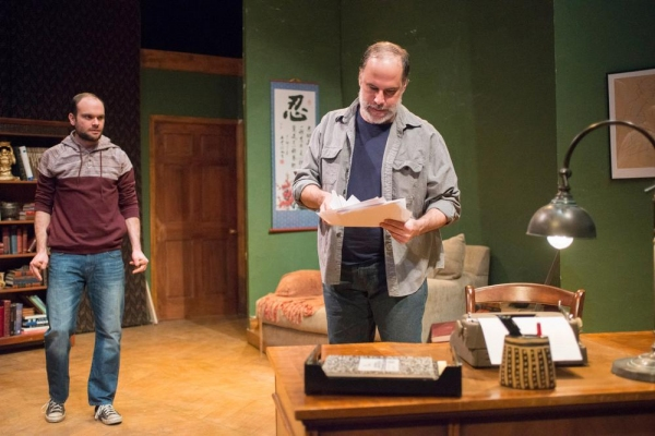 Keith Neagle (Martin) and Tom Hickey (Leonard)