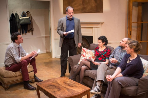 Carl Lindberg (Douglas), Tom Hickey (Leonard), Atra Asdou (Izzy), Keith Neagle (Martin) and Mary Williamson (Kate)