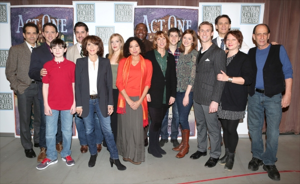 Photo Coverage: Meet the Company of Broadway's ACT ONE- Santino Fontana, Tony Shalhoub, Andrea Martin & More!