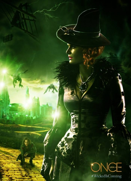 Photo Flash: 'Wicked is Coming' to ABC's ONCE UPON A TIME Midseason Return!