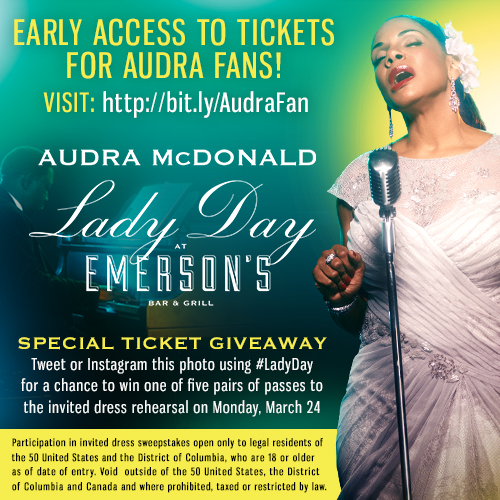 Behind The Scenes Promo For Audra McDonald In LADY DAY AT EMERSON'S BAR & GRILL