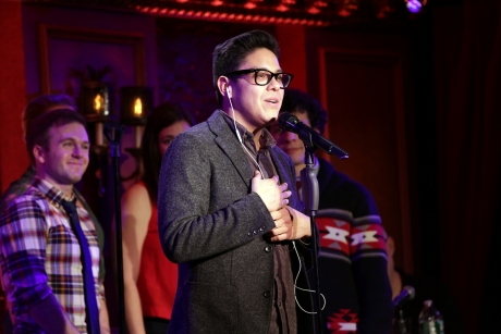 George Salazar with Jeremy Morse, Amanda Savan, and Michael Linden