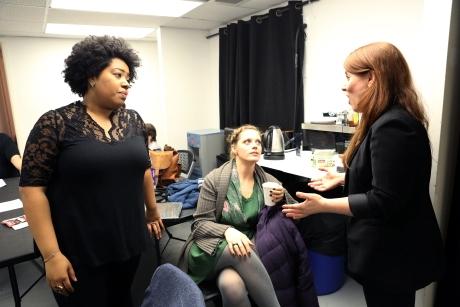 Celisse Henderson, Elizabeth Stanley, and Joelle Lurie