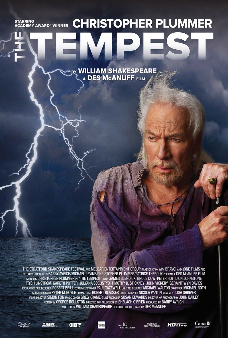 FLASH FRIDAY: Christopher Plummer Storms The Cinema With THE TEMPEST