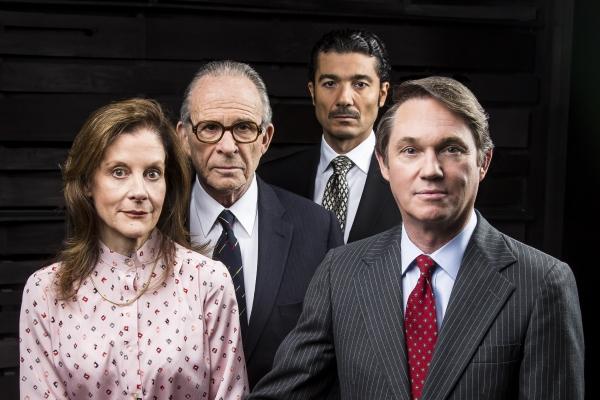 Hallie Foote as Rosalynn Carter, Ron Rifkin as Israeli Prime Minister Menachem Begin, Khaled Nabawy as Egyptian President Anwar Sadat and Richard Thomas as U.S. President Jimmy Carter