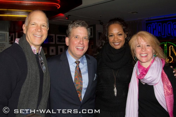 David Zippel, Billy Stritch, Latanya Hall and Deborah Grace Winer