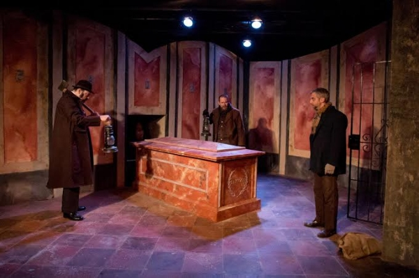 Photo Flash: First Look at The Den Theatre's World Premiere of THE ROPER