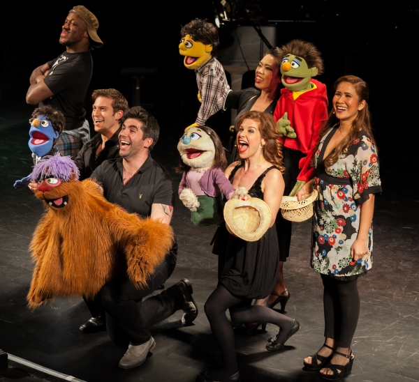 Photo Flash: AVENUE Q Cast, Blake, Gok Wan and More in YOU'LL NEVER WALK ALONE - THE WEST END UNITES FOR THE PHILIPPINES
