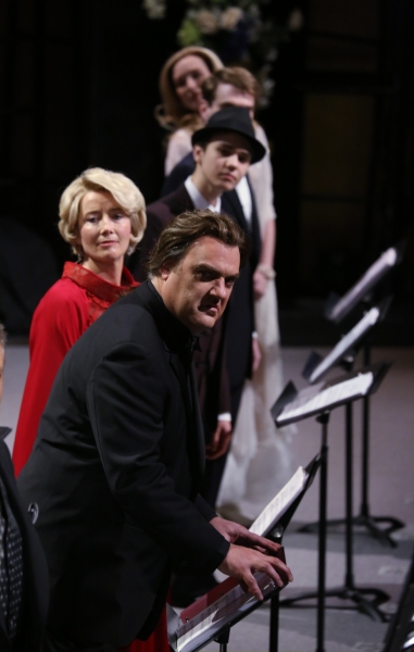 Emma Thompson and Bryn Terfel  and cast