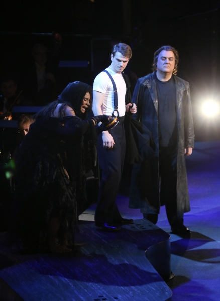Audra McDonald, Jay Armstrong Johnson and Bryn Terfel