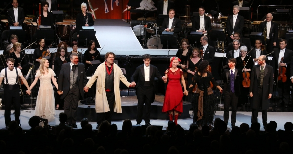 Jay Armstrong Johnson, Erin Mackey, Philip Quast, Byrn Terfel, Alan Gilbert, Emma Thompson, Audra McDonald, Christian Borle and Jeff Blumenkrantz