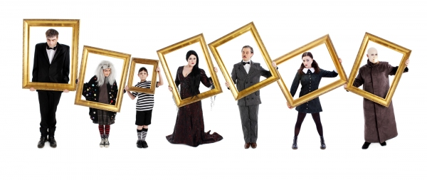 Photo Flash: First Look at Nice Swan Theatre Company's THE ADDAMS FAMILY