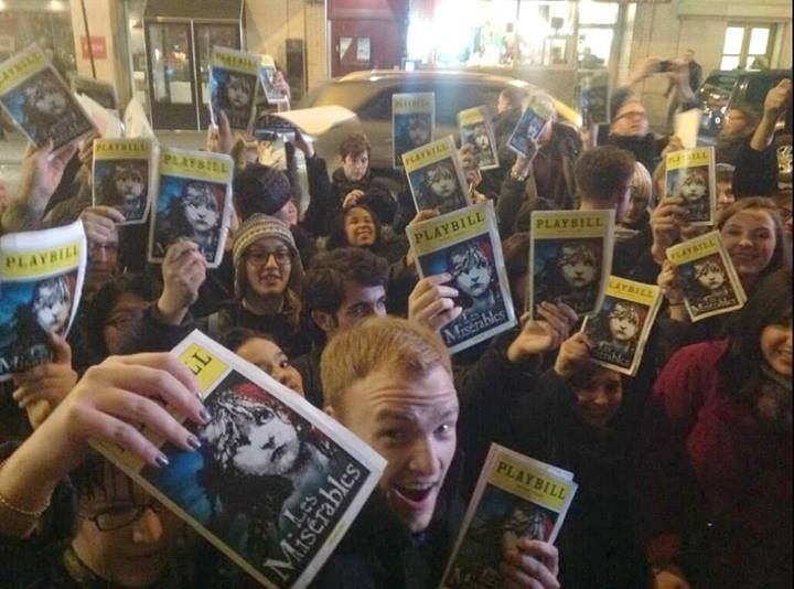 Pandemonium At LES MISERABLES Broadway Revival Previews Stage Door