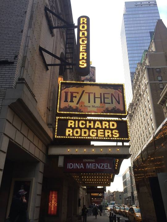 Idina Menzel Says IF/THEN First Preview 'Felt Really Good'