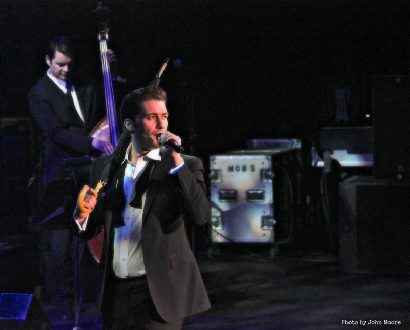 New Photos Of Matthew Morrison's Denver Charity Concert