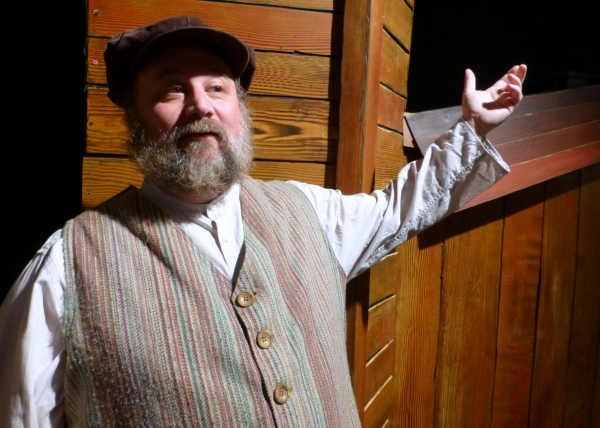 Tevye (Bradley Miller) explains, ''Without our traditions, life would be as shaky as a fiddler on the roof!''