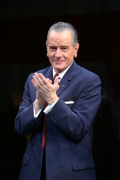 Photo Coverage: Bryan Cranston & the Cast of ALL THE WAY Take Opening Night Broadway Bows!