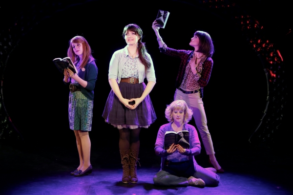 Kaitlyn Frotton, Amber Petty, Chloe Williamson and Ashley Ward