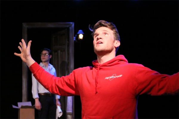 Photo Flash: First Look at Claybourne Elder & Sean Hudock in Wild Root's ROOM AT THE END OF THE HALL Workshops