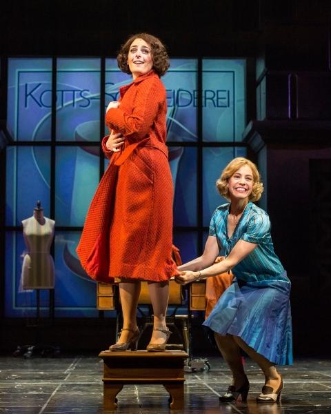 Hannah Corneau and Leigh Ann Larkin