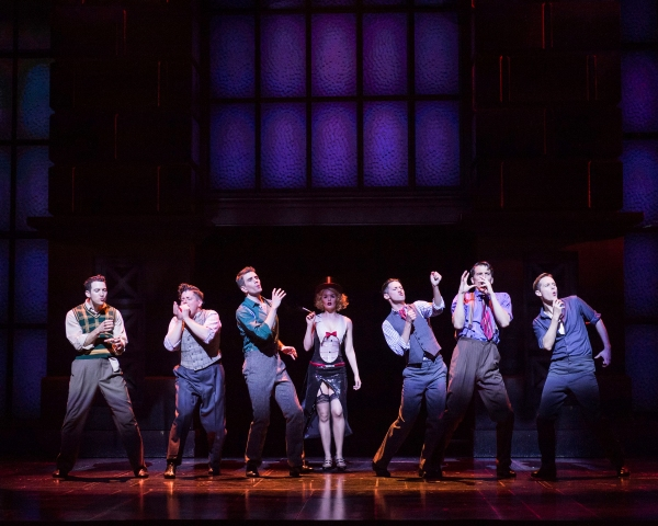 Photo Flash: First Look at Shayne Kennon, Will Blum, Leigh Ann Larkin & More in Barry Manilow's HARMONY at CTG/Ahmanson Theatre