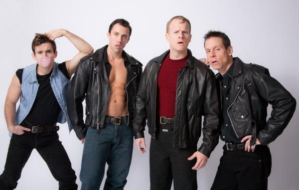 David Errigo, Jr. , Steven Wenslawski, Andrew Glaszek and Tim Burke Photo