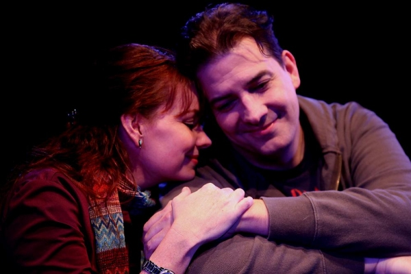 Sarah (Sara Gaston) and Jamie (Sean Patrick Judge)