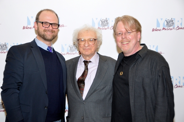 Carl Andress, Sheldon Harnick and Christopher McGovern