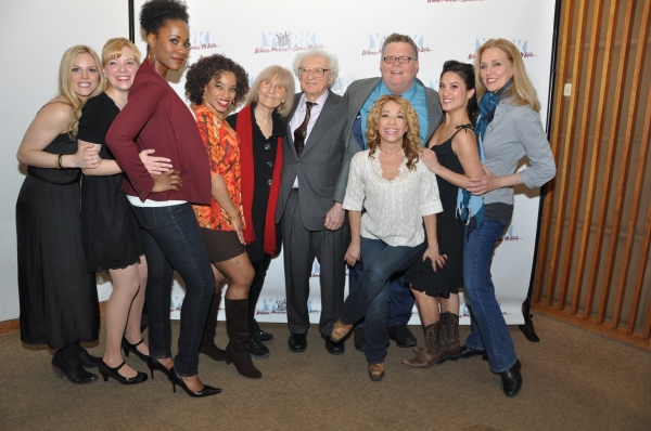 Katie Rose Clarke, Jillian Louis, Zakiya Young, Debra Walton, Margery Gray Harnick, Sheldon Harnick, James Morgan, Jennifer Cody, Diane Phelan and Marcy McGuigan