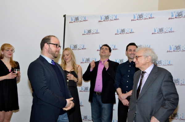 Jillian Louis, Carl Andress, Katie Rose Clarke, Kendal Sparks, Max Von Essen and Sheldon Harnick