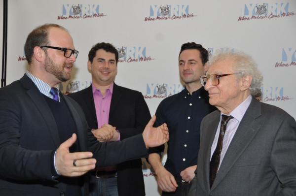 Carl Andress, Kendal Sparks, Max Von Essen and Sheldon Harnick