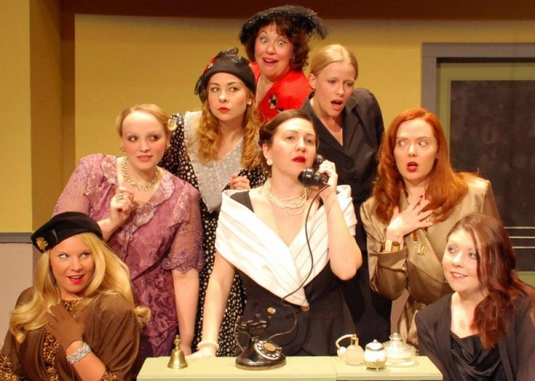 Photo Flash: First Look at Buck Creek Players' THE WOMEN