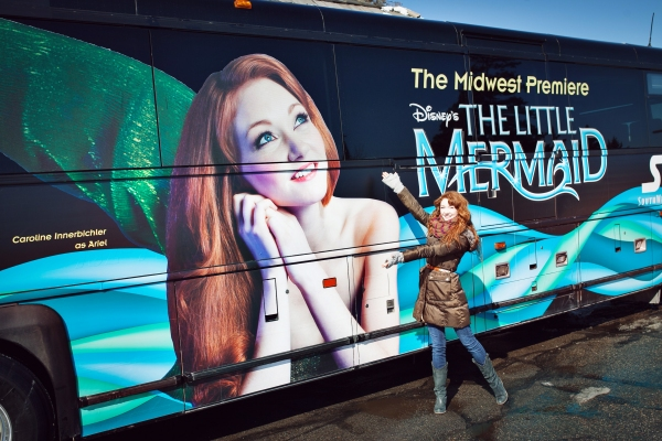 Photo Flash: Up Where They Walk! THE LITTLE MERMAID Takes to the Midwest Streets