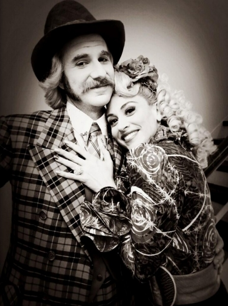 Photo Flash: Saturday Intermission Pics, March 8 - THE FANTASTICKS Prepare to Spring Ahead, KINKY BOOTS Welcomes ROCKY & More!