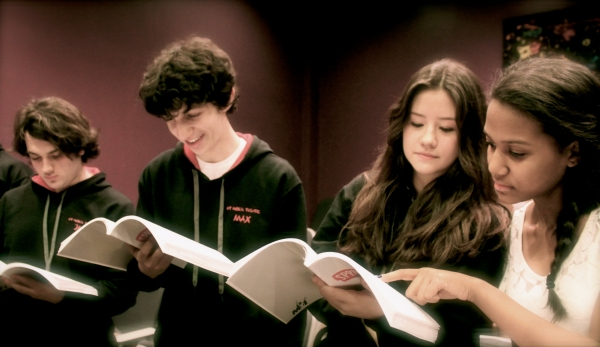 Photo Flash: In Rehearsal with HT Musical Theatre's SPRING AWAKENING