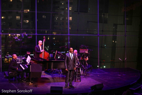 Joseph Joubert, music director, George Farmer, Norm Lewis, Perry Cavari