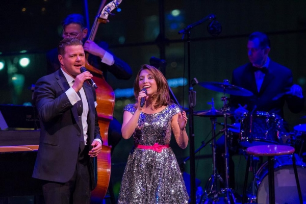 Photo Flash: Inside Jim Caruso's CAST PARTY GOES TO THE MOVIES with Billy Stritch, Christina Bianco, Clarke Thorell & More