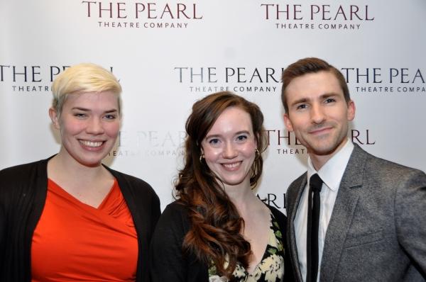 Amy Jo Jackson, Amelia Pedlow and Jess Burkle