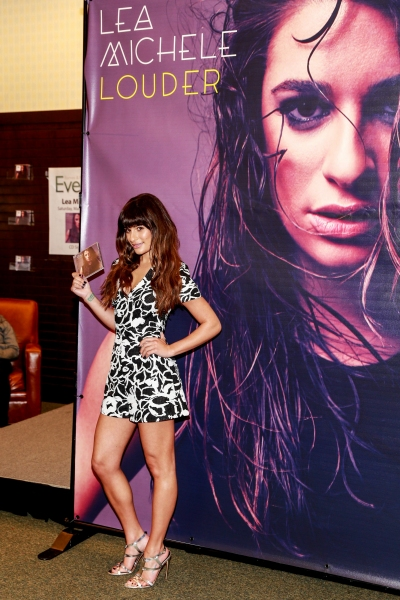 Photo Flash: Lea Michele Promotes Debut Album  'Louder' in L.A.